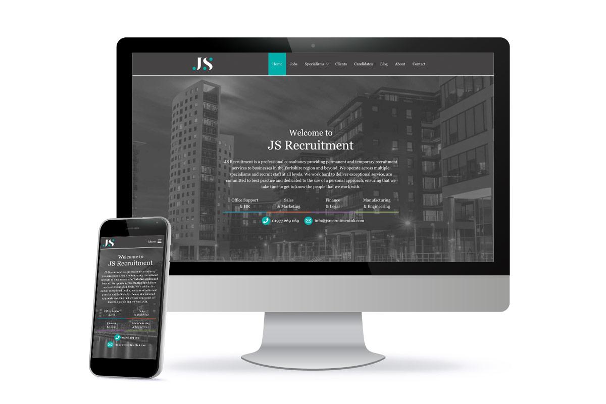 JS Recruitment Website